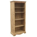 Corona Tall Open Bookcase