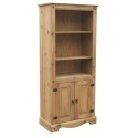 Corona Bookcase With 2 Doors