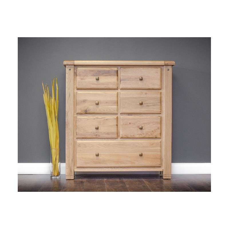 Donny Tall 7 Drawer Chest - 1170x1090x395