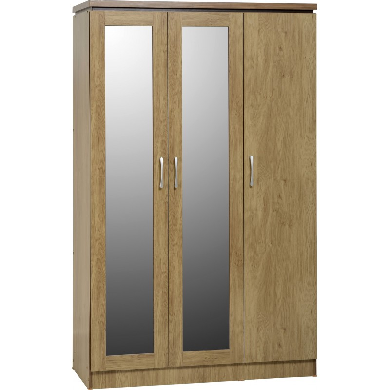 Charles 3 door all hanging wardrobe