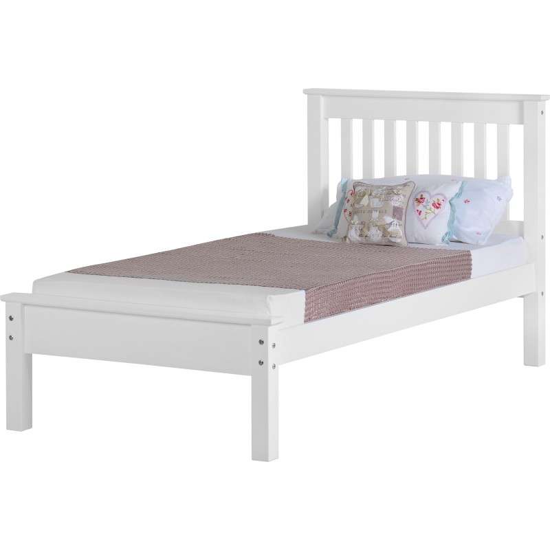 Monaco Bed - 3ft 4.6ft 5ft low foot