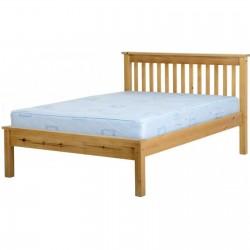 Monaco Bed - 3ft 4.6ft 5ft low foot