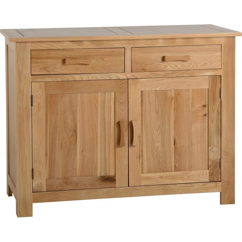 Stratford 2 Door 2 Drawer Sideboard Solid Oak