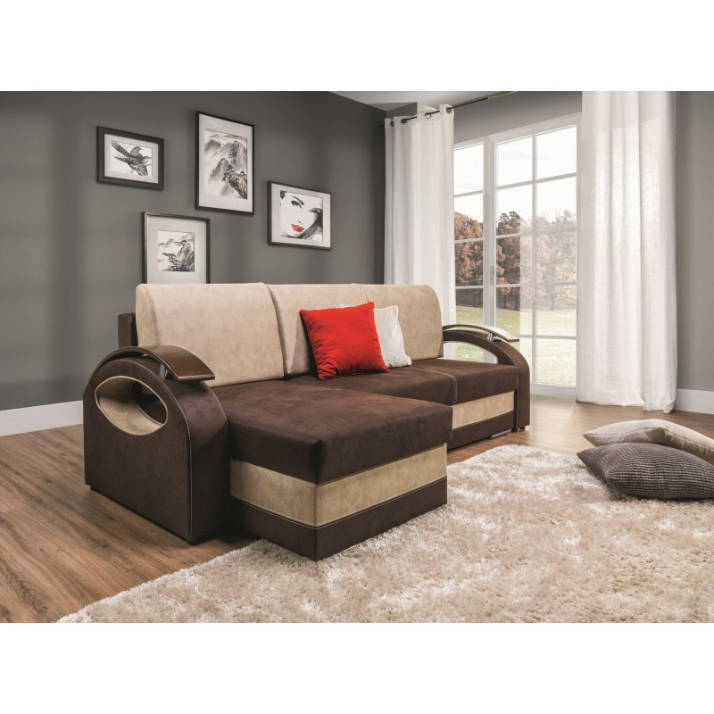 Lena Corner Sofa Bed