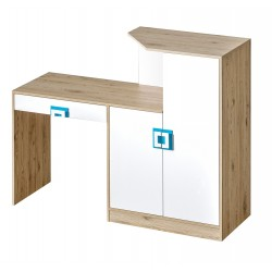 Niko 11 desk-chest of drawers