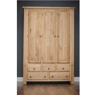 Donny Bedroom - 3 Door Wardrobe