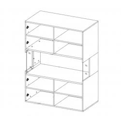 Toldo No.42 Sideboard Display Cabinet