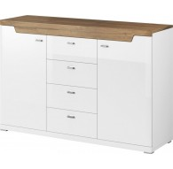 MONTE 2 DOOR CHEST 4 DRAWERS No. 26