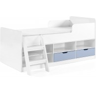 Asper Low Sleeper Bed Blue