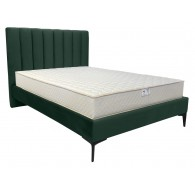 Lauren Velvet Fabric Bed Frame